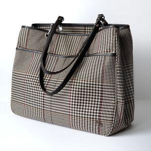 Lauren Ralph Lauren | Houndstooth Shoulder Bag